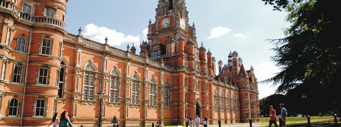 Royal Holloway campus