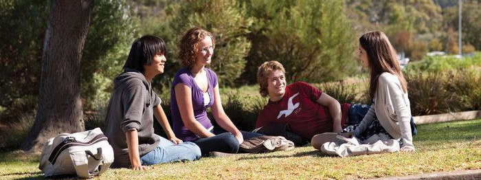 Flinders University students