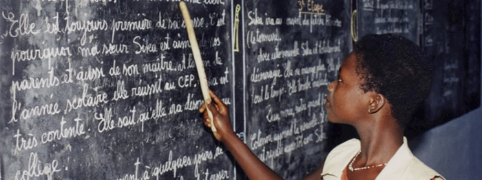 Teacher in Benin