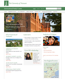 University of Vermont International Study Center