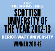 Heriot Watt University Award