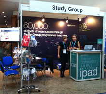 The Study Group stall at ICEF