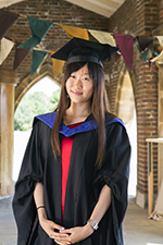 Candice graduated with first class honours from University of Sussex