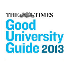The Times Good University Guide 2013