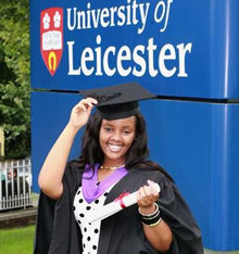 Mary Macharia, University of Leicester ISC student