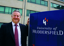 Bob Cryan, vice-chancellor of the University of Huddersfield