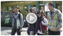 Watch our brand new video, Study In Dublin